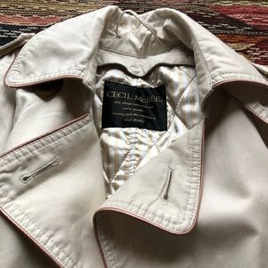 Cecil McBee Jackets & Coats - Cecil McBee pea trench coat